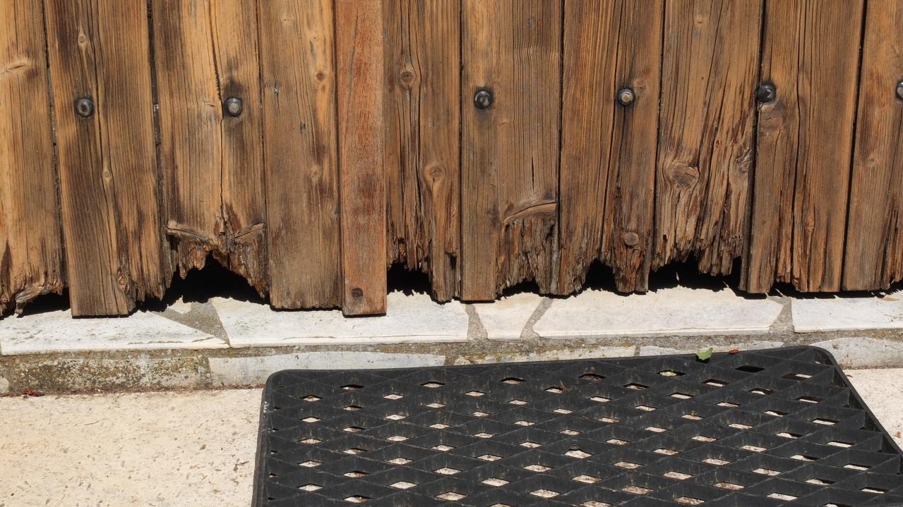 Comment Rénover Une Porte En Bois rénovation de volets bois avec reconstitution de lames