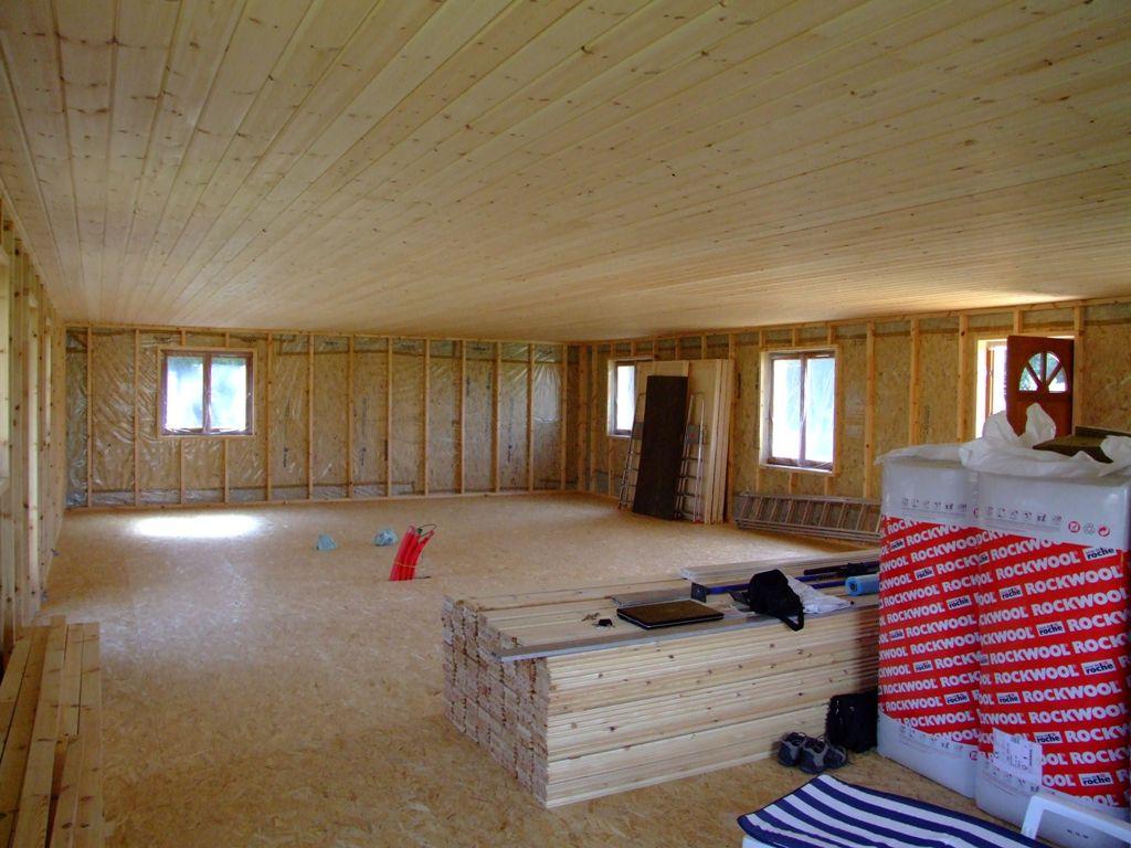 r alisation du vide technique et montage des cloisons autoconstruction maison en ossature bois. Black Bedroom Furniture Sets. Home Design Ideas