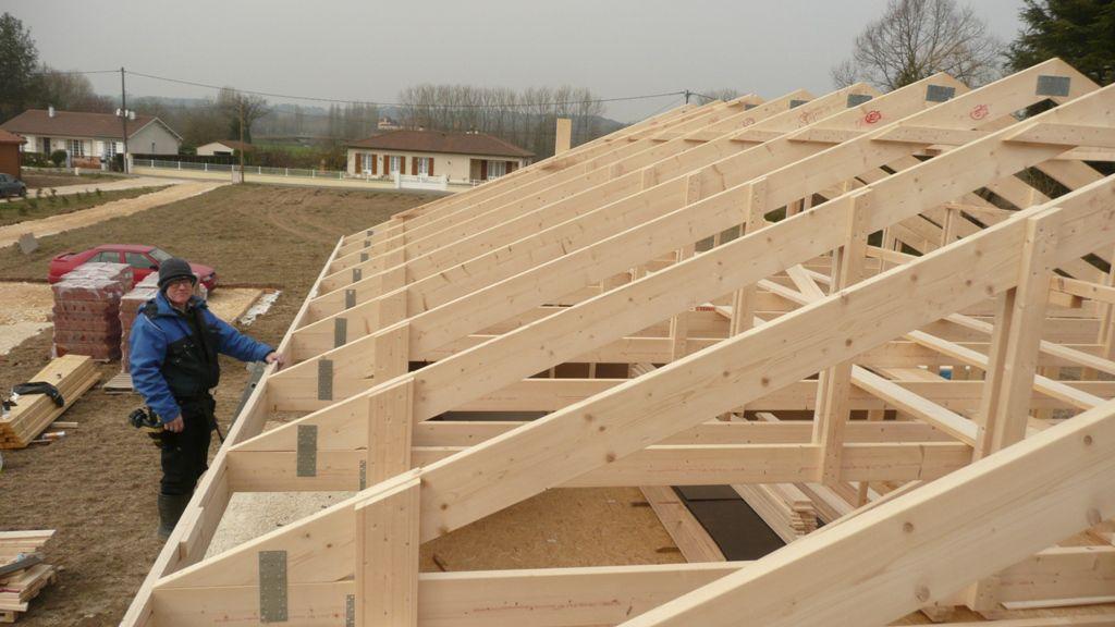R alisation platelage et pose cran de sous toiture - Pose ecran sous toiture ...