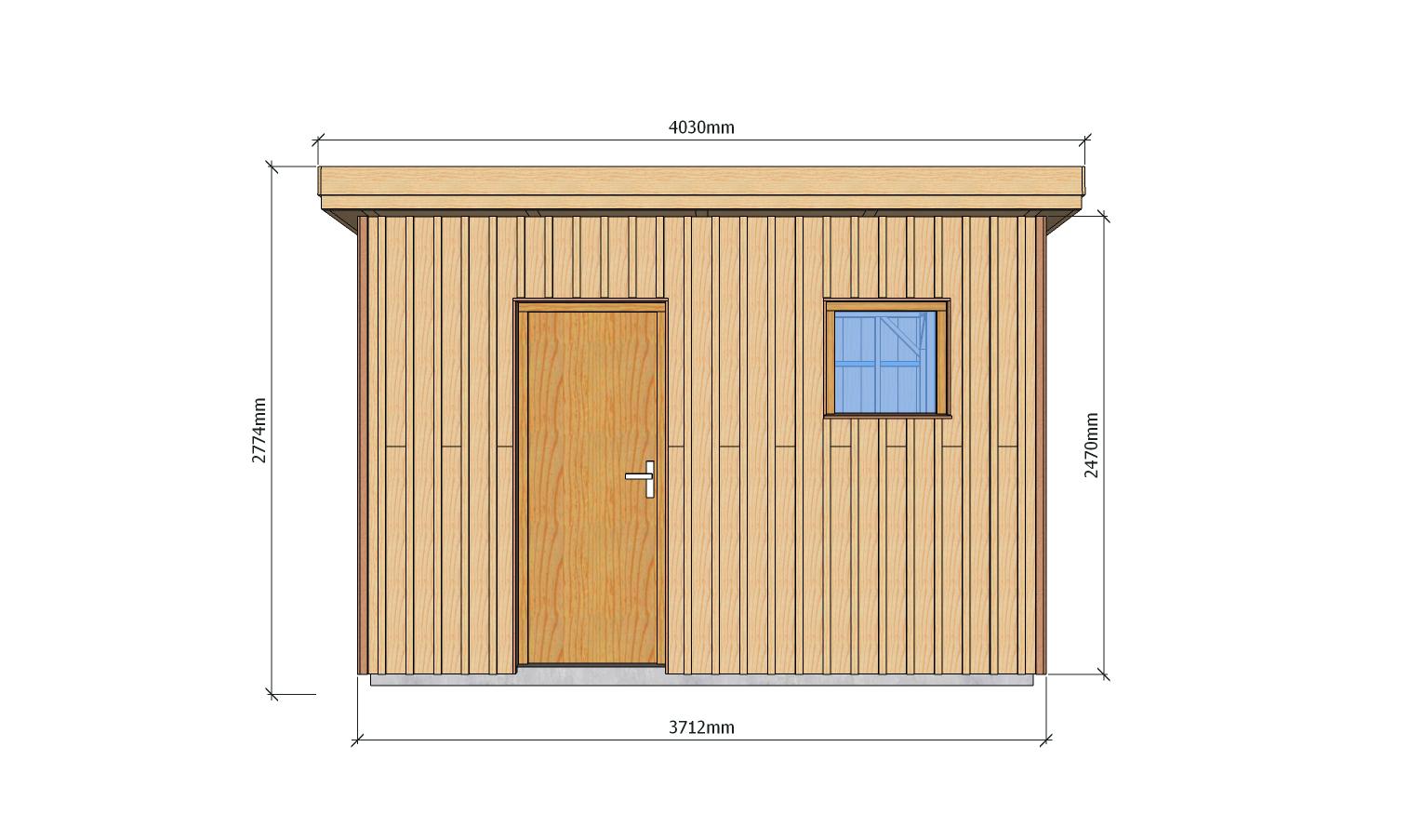 Plans A Ossature Bois Pour Autoconstruction Abri De Jardin