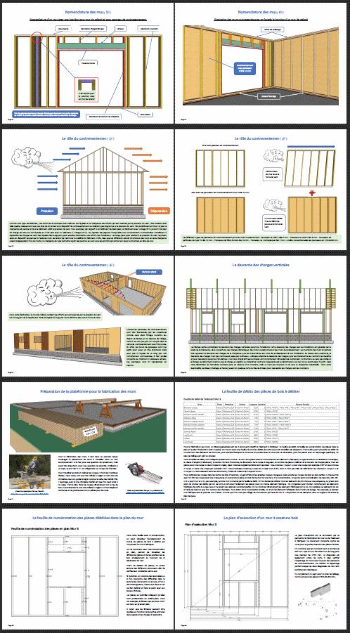 Extrait 1 guide pour l'autoconstruction d'une maison à ossature bois