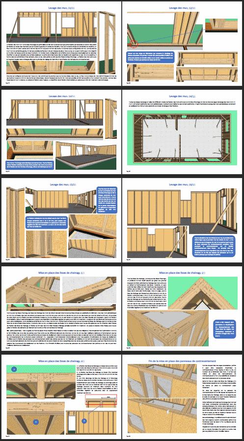 Extrait 3 guide pour l'autoconstruction d'une maison à ossature bois