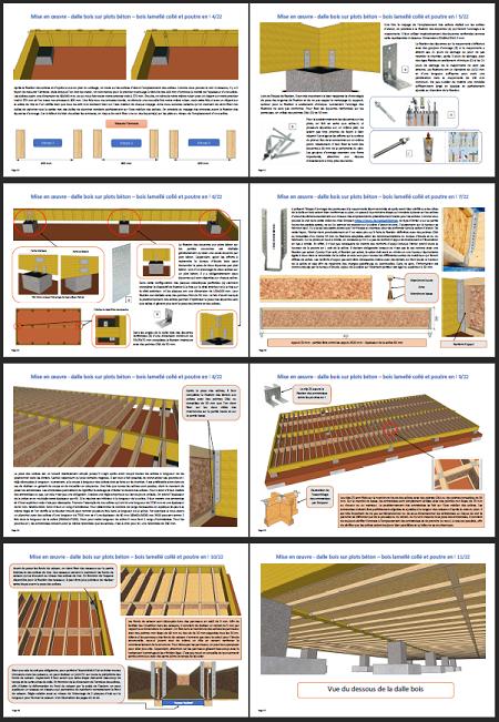 Extrait 1 guide pour apprendre à construire une dalle en bois