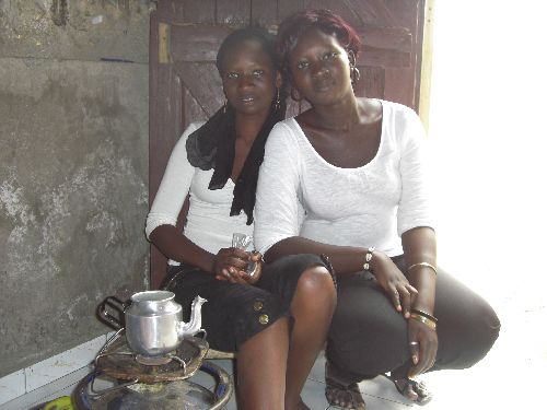 Yvonne et Marie Therese