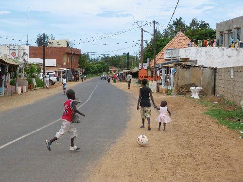 un village animé
