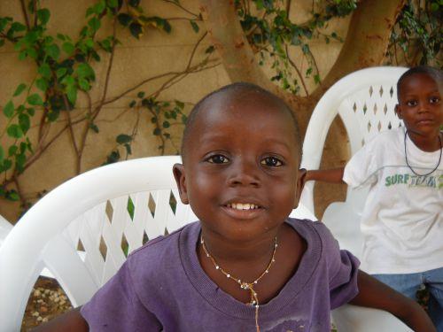 Bakari le plus jeune des 3 garçons