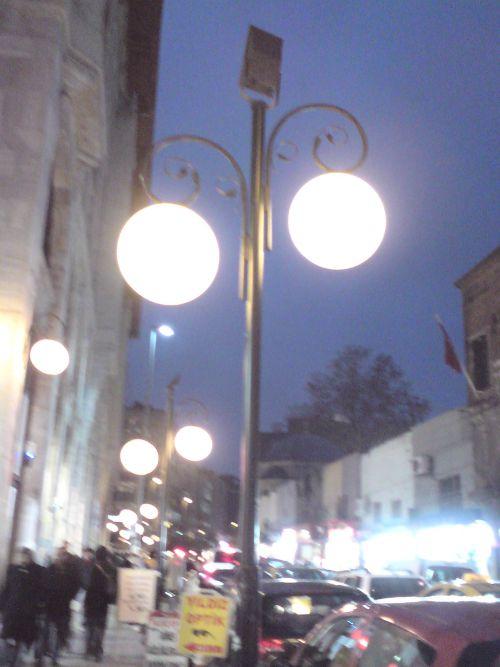 lampadaire ottoman palace hotel