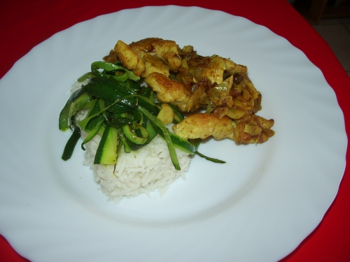 curry de poulet riz courgette1.JPG
