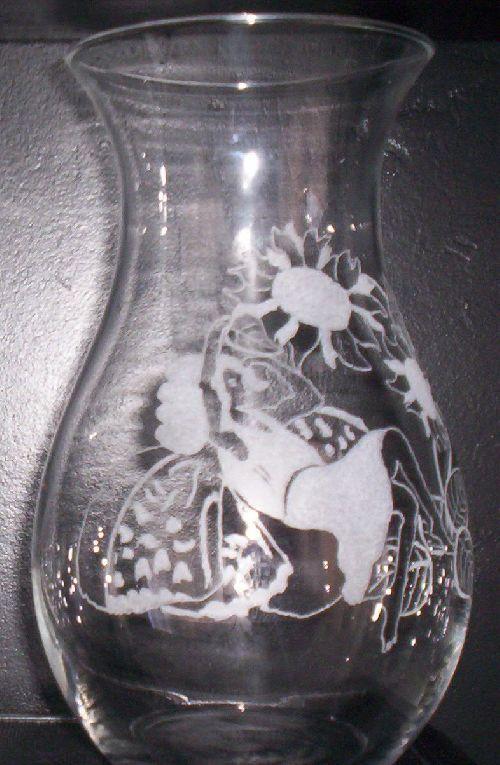 Vase rond