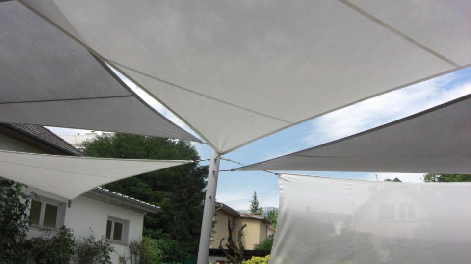 Voiles d'ombrage, aménagement extérieur et inté