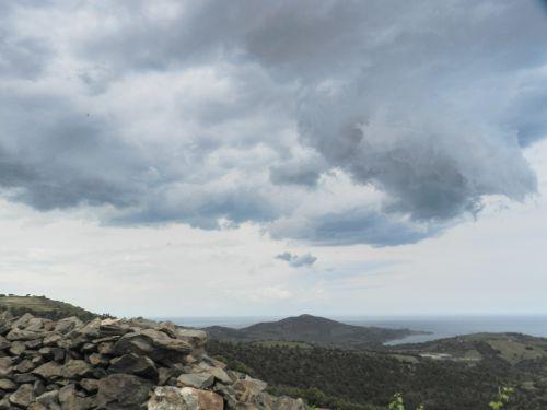 Banyuls avant l'orage