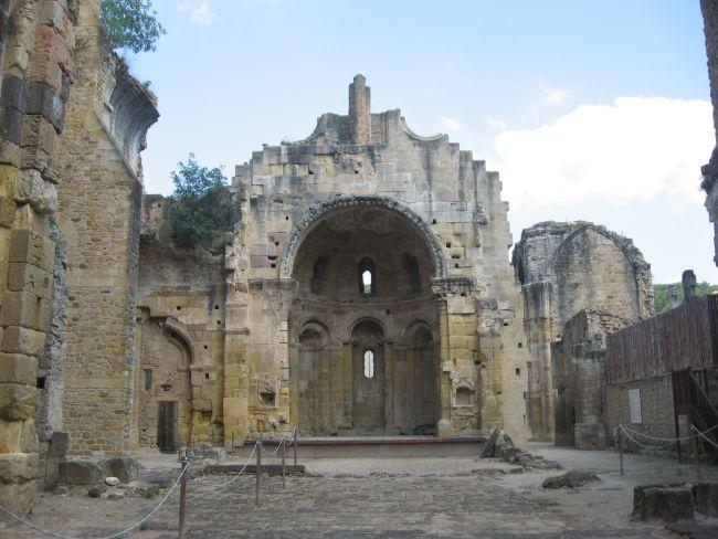 Abbaye Saint-Marie d'Alet-les-Bains (Aude) -
