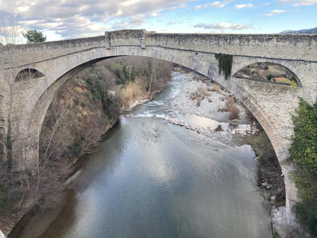 Céret - Pont du diable (12ème s.)