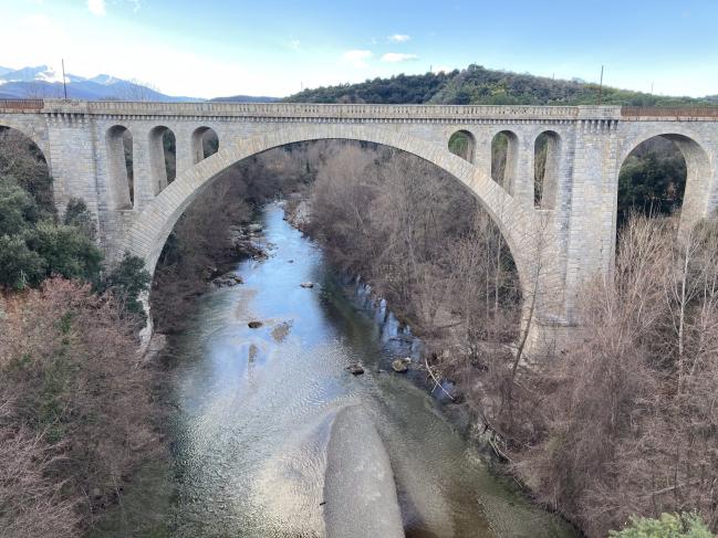Céret - Pont du chemin de fer (19e s.)