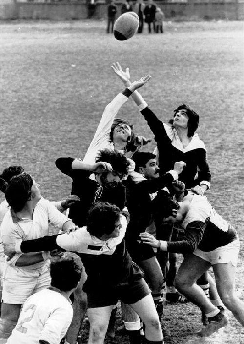 La touche dans les années 1975