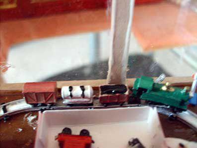 le train miniature