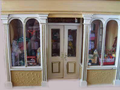 Un magasin de jouets ancien