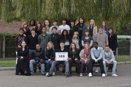 Foto de la clase de Première ES de Eaubonne