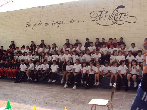 Celebración con los alumnos de primaria.