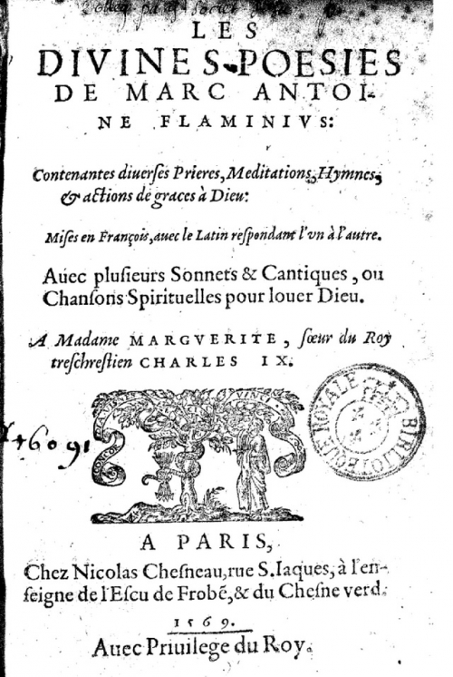 Anne des Marquets- traduction de Flaminius (1569.jpg