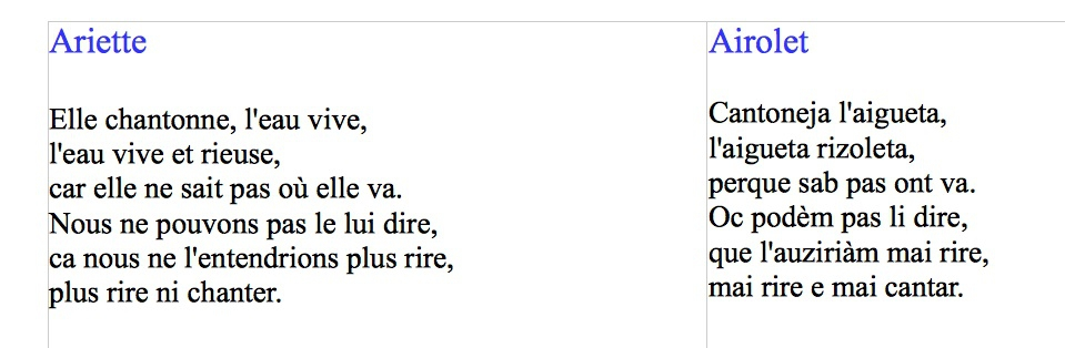 Louisa Paulin Sorgaspoèmes En Occitan Et Français