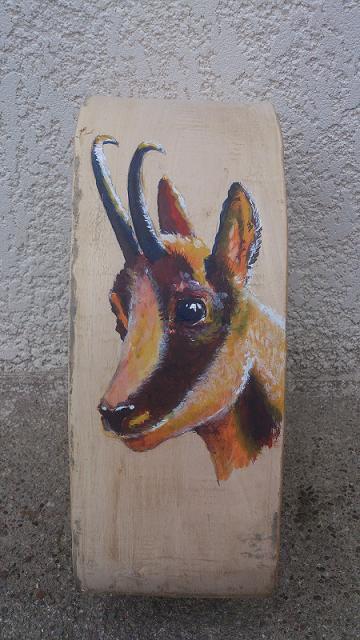 Collier de vache décoré Isard recto 05/10/2012