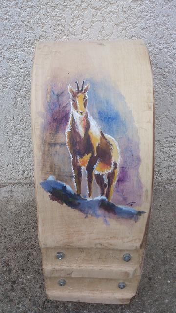 Collier de vache décoré Isard verso 05/10/2012