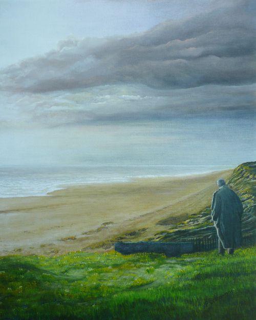 Regard sur l'horizon  (38X46)