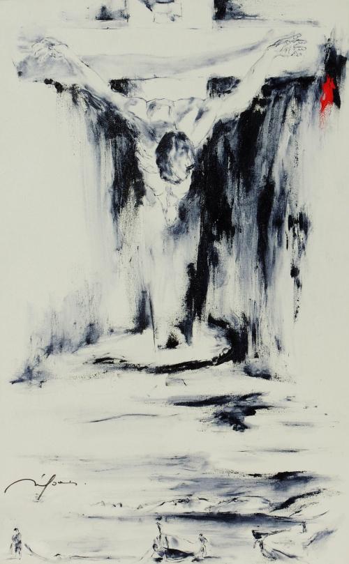 339 Le Chris de St Jean de la Croix ( DALI ) 1951- 81 x 130.jpg