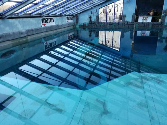 Plongée dans la fosse de Monte Mare (Allemagne) ce 13 janvier !