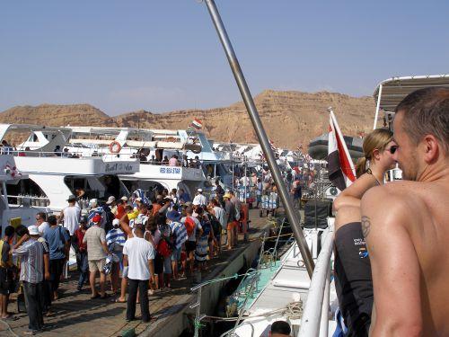 Le port de Sharm el Sheick
