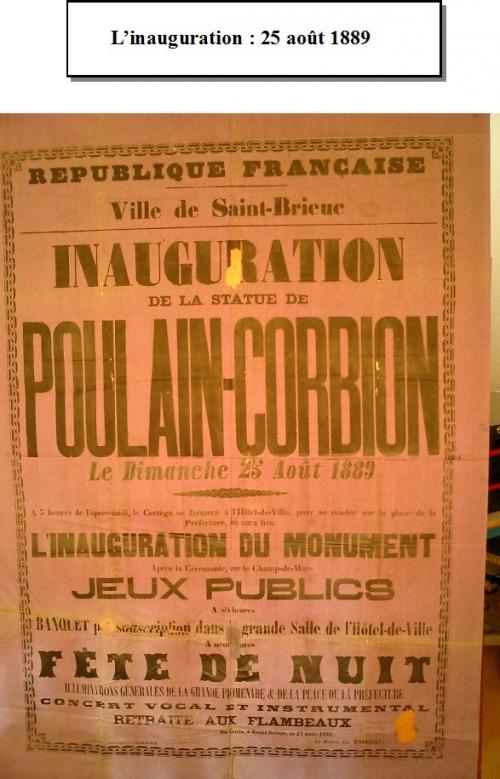 Affiche annonçant l'inauguration du Monument Poulain-Corbion.jpg