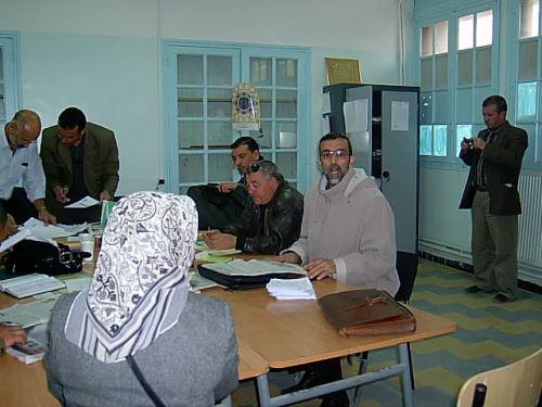 pendant le conseil de wilaya du 07 novembre 2009