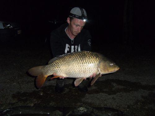 5kg dans un étang bien difficile
