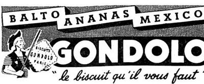 Biscuiys Gondolo 1957