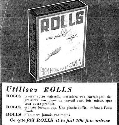 Savon Rolls 1957