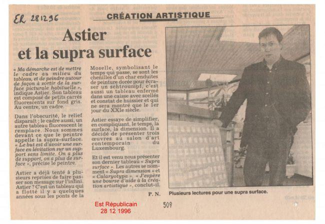 La Supra-Surface dans l'Est Républicain - The Supra-Surface in a regional newspaper