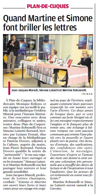 Mosaïque Martine  10 12 15 Cuques  La Provence Retour Médiat. Simone Mart.png