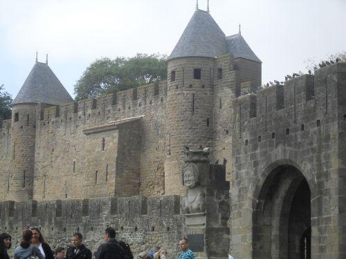 Arrivée à Carcassonne vers 11h