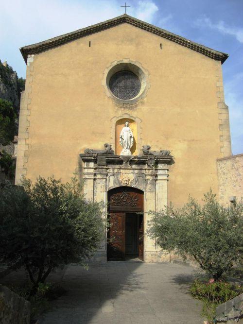 Eglise d'Entrevaux