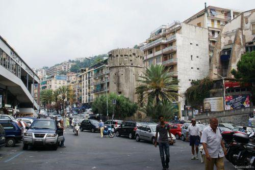 Quartier du marché à San Remo