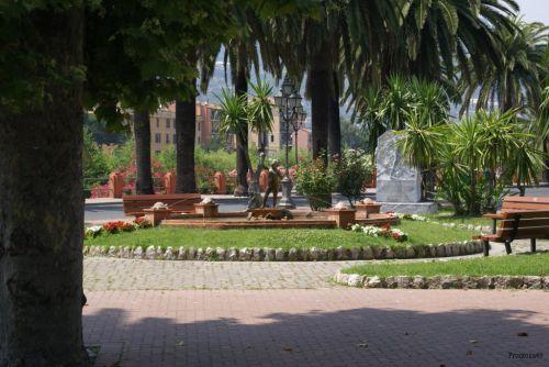 Jardin public à Vintimille
