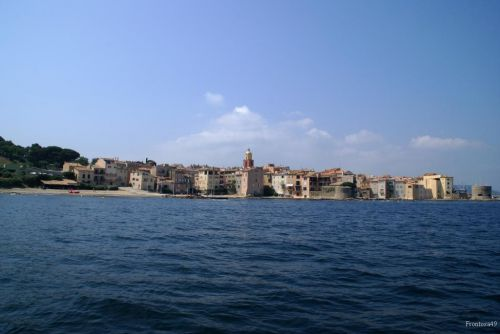 St Tropez vue du large