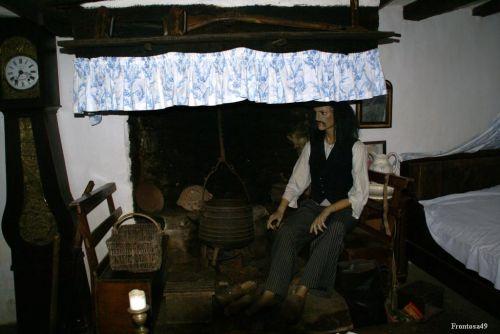 Interieur d'une maison Bretonne