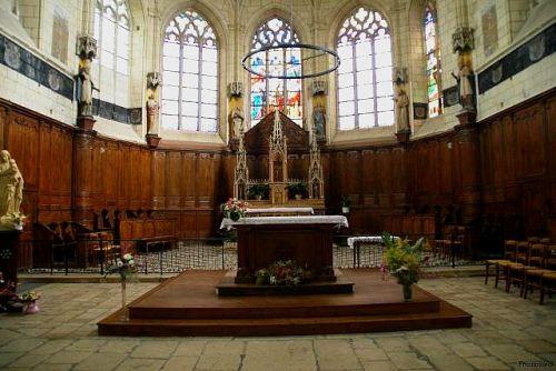 Coeur de l'abbaye
