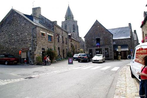 Coeur du village de St Suliac