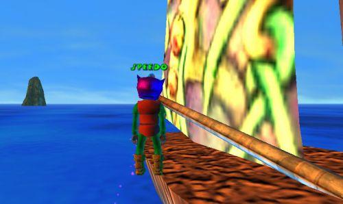 Je suis le premier Kitoy a avoir été sur ce voilier !!!