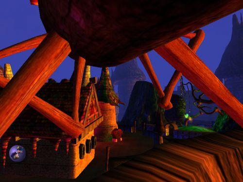 J'ai été dans le toit du moulin du Baron Gal.