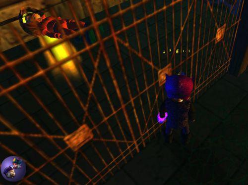 J'ai enfin eu la clé des Loobars ! Et j'ai été dans la cellule de Toopao ! Et j'étais grand (grâce à mon masque) et quand j'ai cliqué sur le chapeau de Toopao, je suis redevenu petit! 4e photo.