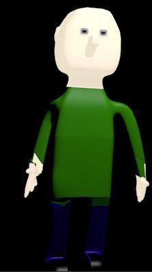 Mon premier personnage en 3D